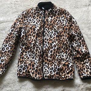 A Victorious Secret Pink reversible cheetah jacket